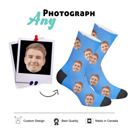 Custom Face Socks - 2