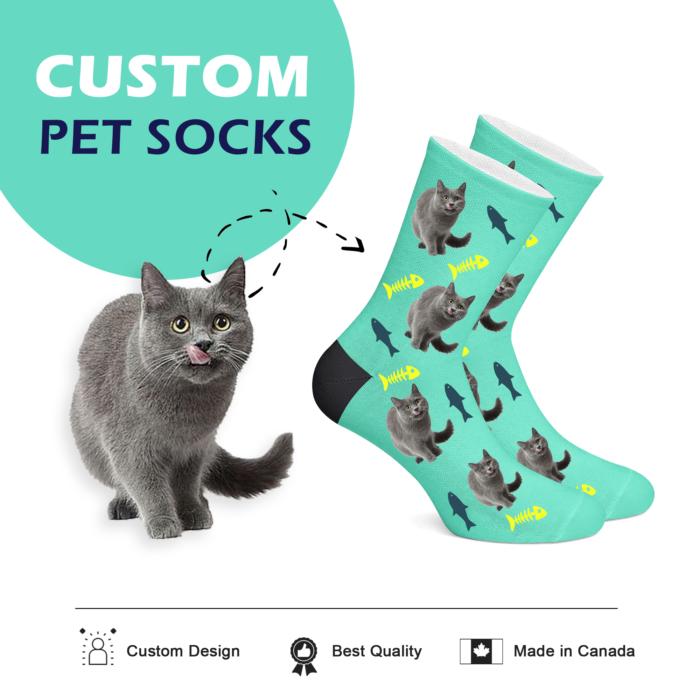 Custom Cat Socks - Full Body - 2