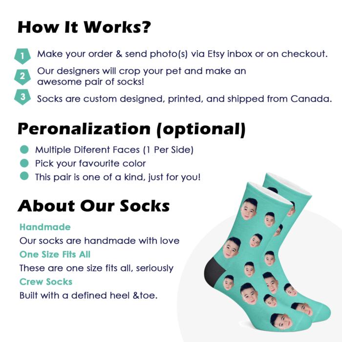 Custom Face Socks