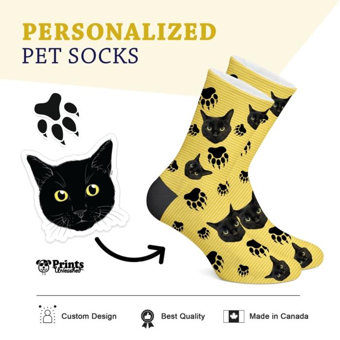 Custom Cat Sock