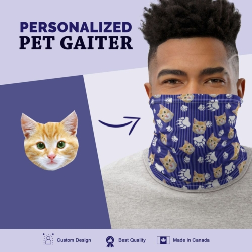 Custom Cat Gaiter W/Stripes