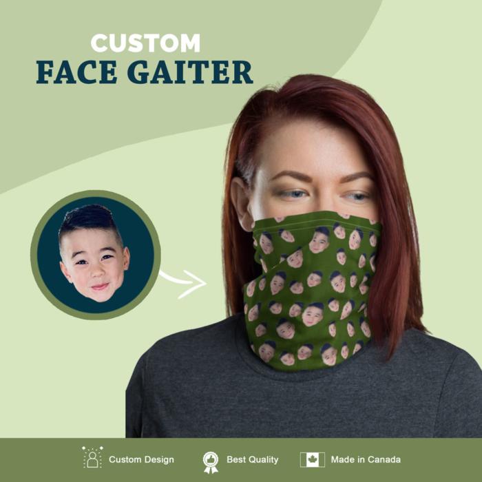 custom face gaiter