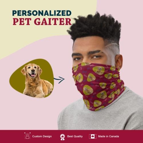 Custom Dog Gaiter with Full Body