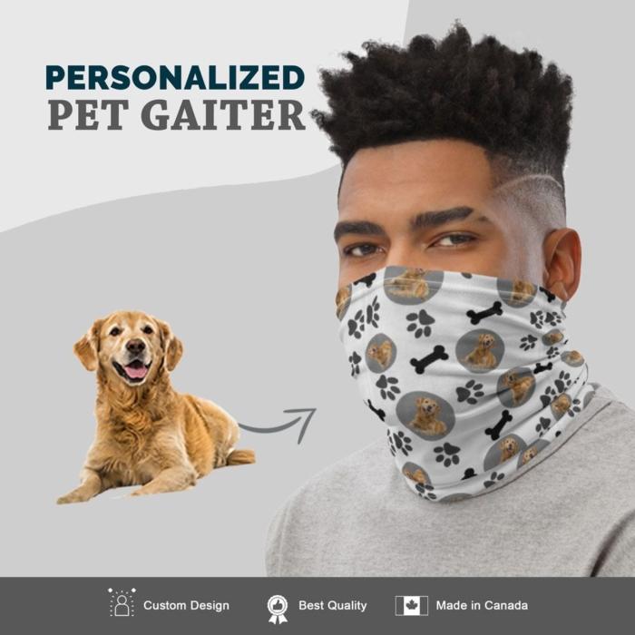 Custom Dog Gaiter Bodied