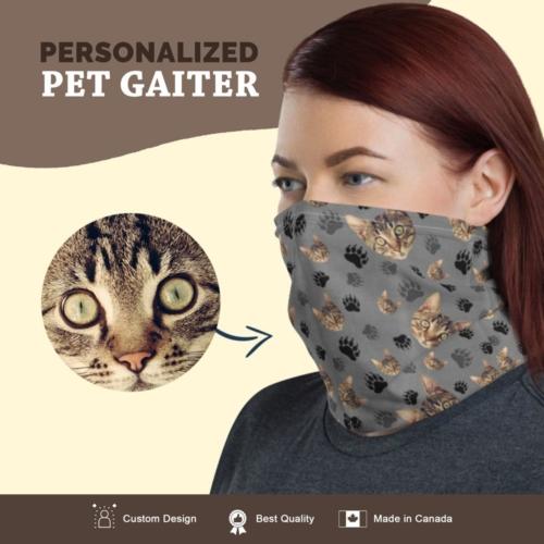 Custom Cat Gaiter with Bigcat